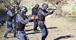 В Крыму прошли тактические занятия сотрудников вневедомственной охраны и СОБР Росгвардии
