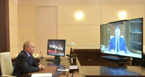 Владимиру Путину доложили о решении проблемы водоснабжения Крыма