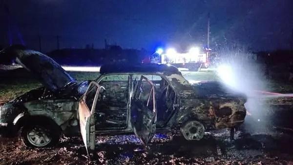 Автопожар в Раздольненском районе. Сгорела «Волга»