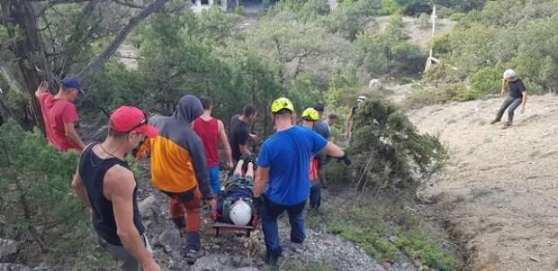 Утреннее происшествие на горе Палвани-Оба, под Судаком