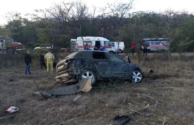 ДТП на востоке Крыма: «Audi» врезалась в дерево