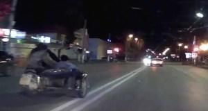 В Керчи нетрезвый водитель мотоцикла «Урал» решил сыграть в «догонялки» с инспекторами ГИБДД