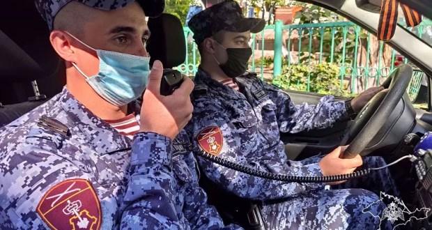 В Севастополе сотрудники Росгвардии оказали помощь мужчине, у которого случился сердечный приступ
