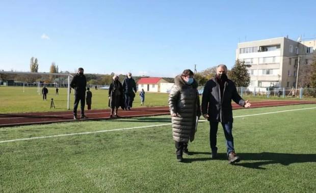 Владимир Константинов посетил с рабочей поездкой Бахчисарайский район