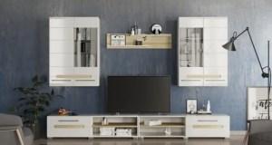 Мебельная стенка для зала (гостиной) - идеальное решение для квартир и домов