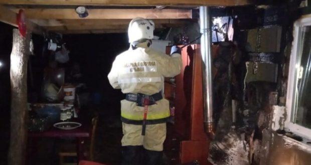 Вечерний пожар в Бахчисарайском районе и еще три пожара минувших суток в Крыму