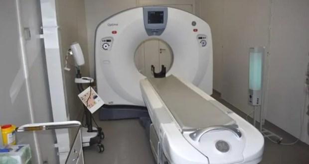 В Евпаторийской городской больнице установлен медицинский модуль с новым компьютерным томографом