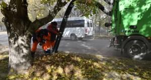 """Чистоту в Ялте наводят 244 специалиста МБУ """"Город"""""""