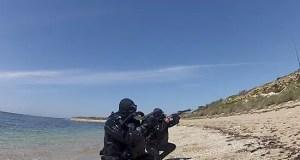 В Крымской военно-морской базе ловили «водолазов-диверсантов»