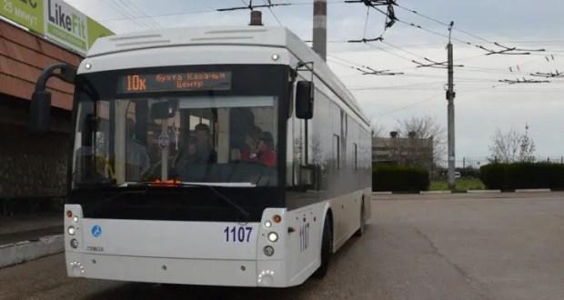 В Севастополе восстановлен маршрут №10К: троллейбусы опять ходят в бухту Казачью