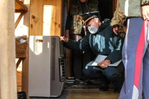 В Севастополе - профилактическая операция «Отопление». Проводят сотрудники МЧС