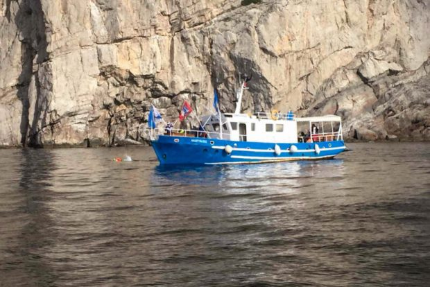 В Севастополе сотрудники ГИМС сопровождают «Заплыв Победы»