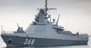 Морская авиация ЧФ обеспечил учение ПВО новейшего патрульного корабля «Павел Державин»