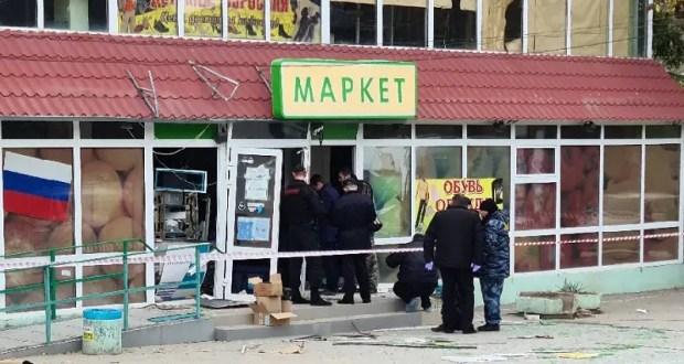 ЧП в Коктебеле: неизвестные взорвали банкомат в фойе магазина и похитили деньги