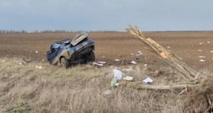 Смертельное ДТП в Красногвардейском районе Крыма: женщина не справилась с управлением