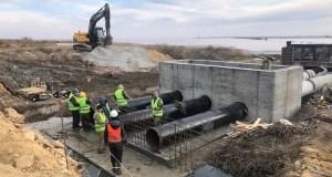 Глава крымского минстроя проверил строительство объектов в Сакском районе и Евпатории