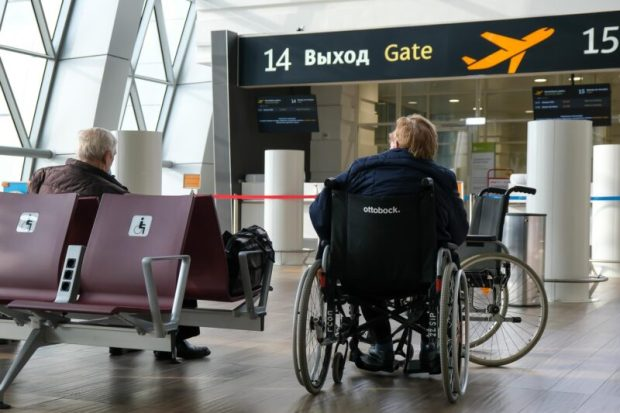 """Аэропорт """"Симферополь"""" внедрил новые сервисы для маломобильных пассажиров"""