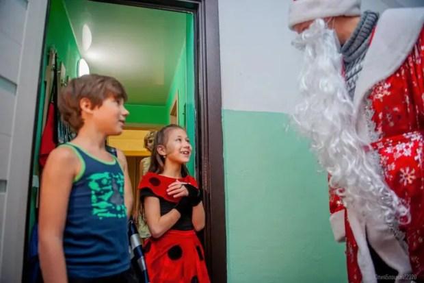 В Севастополе - акция «Новый год в каждый дом»