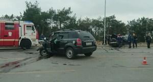 В ДТП на Камышовом объездном шоссе в Севастополе пострадали два человека