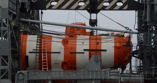 Экипаж глубоководного аппарата АС-28 Черноморского флота выполнил погружение на 200 метров