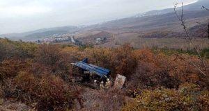 ДТП с грузовиком на трассе «Симферополь – Алушта»