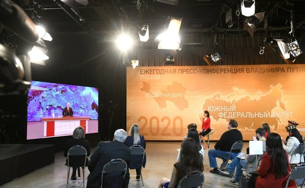 Тема Крыма на Большой ежегодной пресс-конференции Владимира Путина