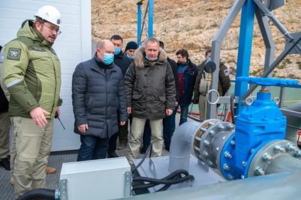 В Севастополе досрочно построили и запустили в эксплуатацию водовод Кадыковского карьера
