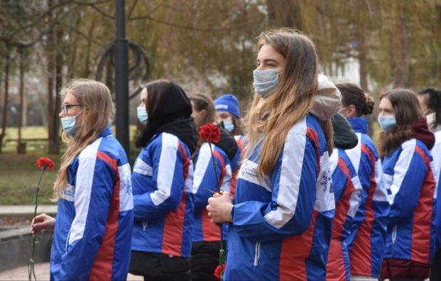 В Крыму - Всероссийская патриотическая акция «Снежный десант РСО»