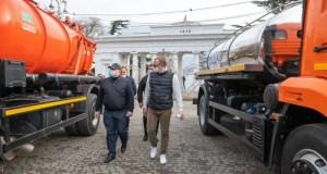 В Севастополе парк коммунальной техники обновлен на 15%