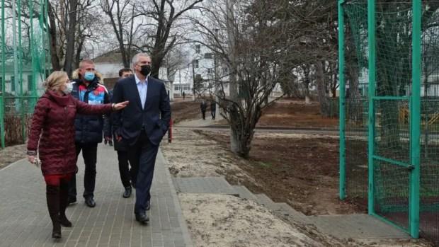 В селе Краснолесье Симферопольского района реконструируют училище олимпийского резерва