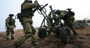 В Крыму прошло полевое учение армейского корпуса Черноморского флота