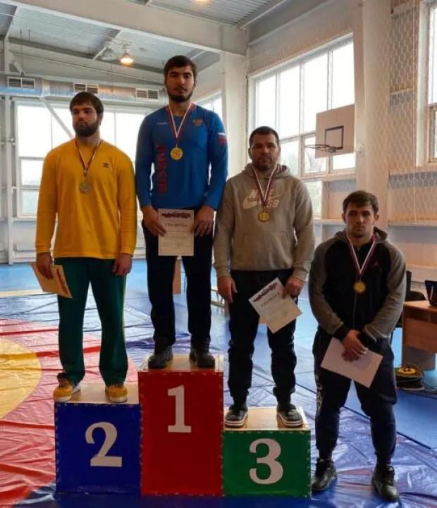 Севастопольский борец Азамат Сеитов - в олимпийской сборной России