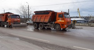 С 14 января «Севавтодор» работает в круглосуточном режиме
