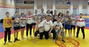 Сумоисты из Ялты завоевали на региональных соревнованиях в Краснодаре дюжину медалей