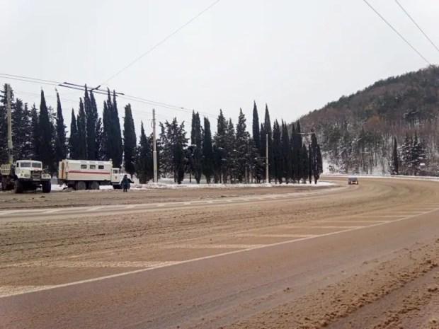 МЧС – о ситуации на дорогах Крыма в воскресенье, 17 января