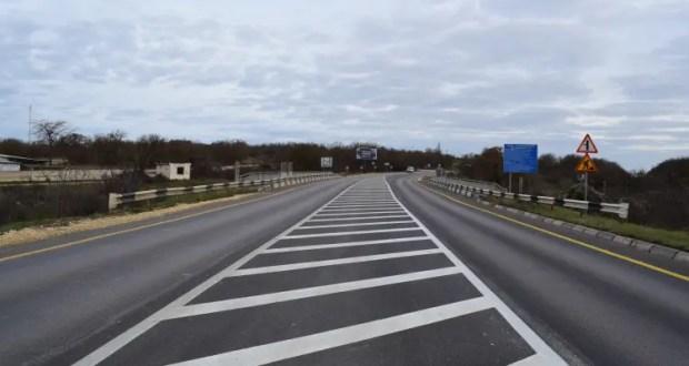 В 2020 году отремонтировали 16 км трассы Симферополь-Бахчисарай-Севастополь