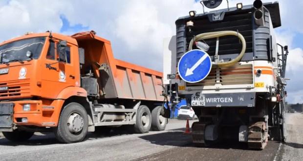 Севастополь уже заключил 100% контрактов на ремонт дорог в 2021 году