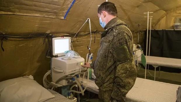 В Крыму сворачивают «ковидные» госпитали МО РФ. Военные возвращаются в «места дислокации»