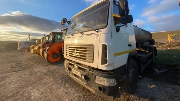 Там, где позволила погода, начаты ремонтные работы на трех автодорогах Крыма