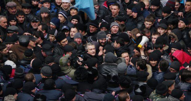 Сергей Аксёнов – о событиях 26 февраля 2014 года - митинге у здания крымского парламента