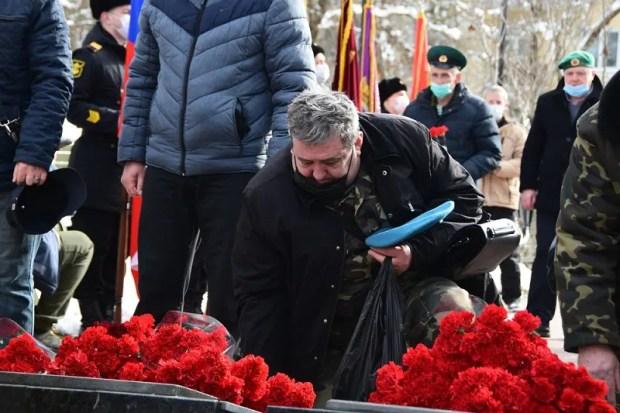 В Крыму почтили память земляков, павших в Афганистане