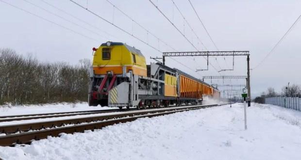 Поезда по Крымскому мосту идут по расписанию