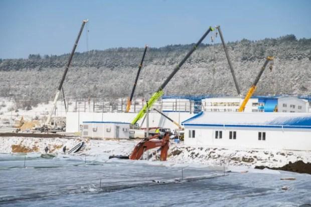 Под Севастополем военные осуществляют врезку Бельбекского водозабора в магистральный Днепровский водовод