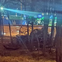 Ночное ДТП в Симферополе. Погибла девушка – пассажир BMW