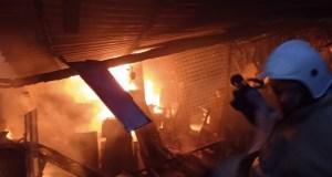 Вечерний пожар в Бахчисарайском районе: едва не взорвался кислородный баллон