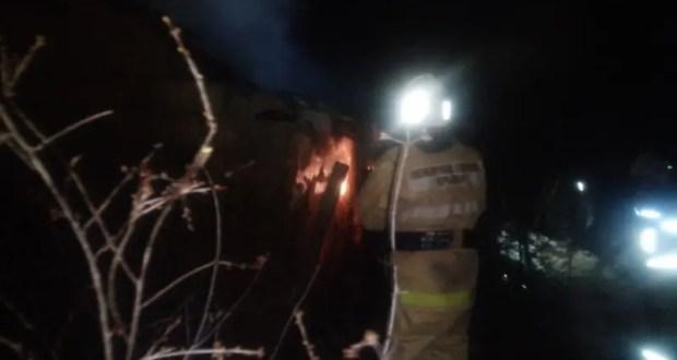 Пожар в с. Уваровка