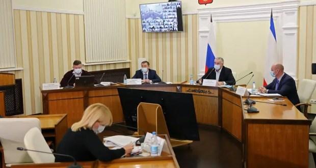 Аксёнов анонсировал выездные проверки хода строительства на объектах по всему Крыму