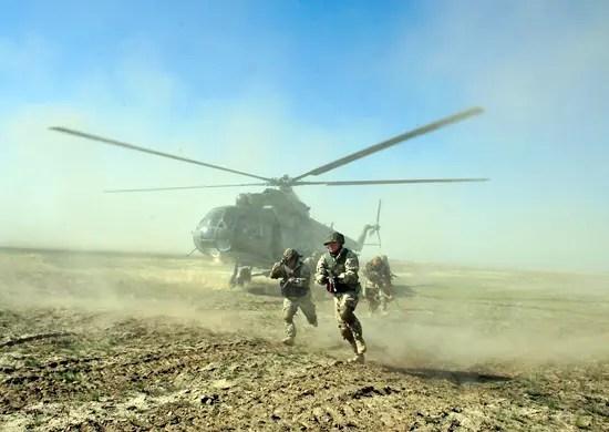 Десантно-штурмовой полк ВДВ создается в Феодосии
