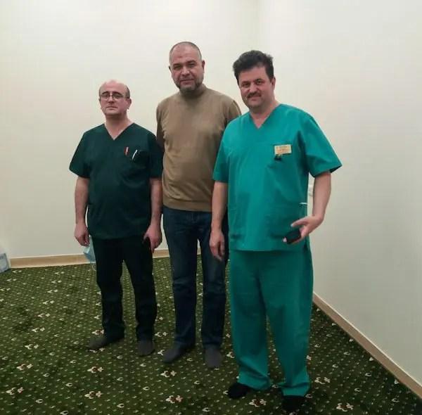 В больнице имени Н.А. Семашко в Симферополе появилась комната для намазов