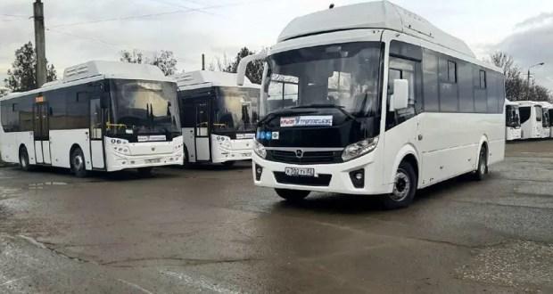 В Крыму на пригородные маршруты вышли новые автобусы